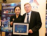 超女阳蕾荣获澳洲皇家动物保护协会爱心大使