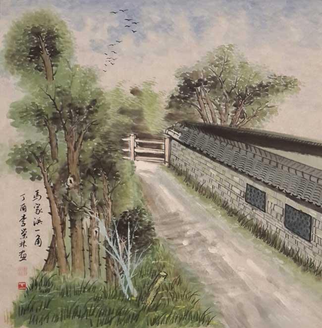 著名书画家李荣林:杜鹃啼到血红处 不信东风唤不回