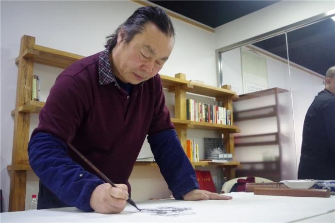 艺术家赵金平