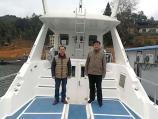 赣州崇义志愿者谢文淦走进阳明湖参观地方生态环境建设